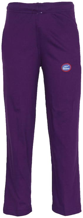 VIMAL JONNEY Girl Blended Track pants - Purple