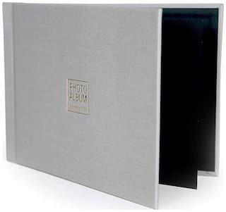 VMS Imperial Thermal Album Cover 4R (10x15 cm) [Grey] with Photo Album and Inner Cover