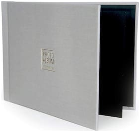 VMS Imperial Thermal Album Cover 5R(13x18cm) [Grey] with Inner Cover and Photo Album
