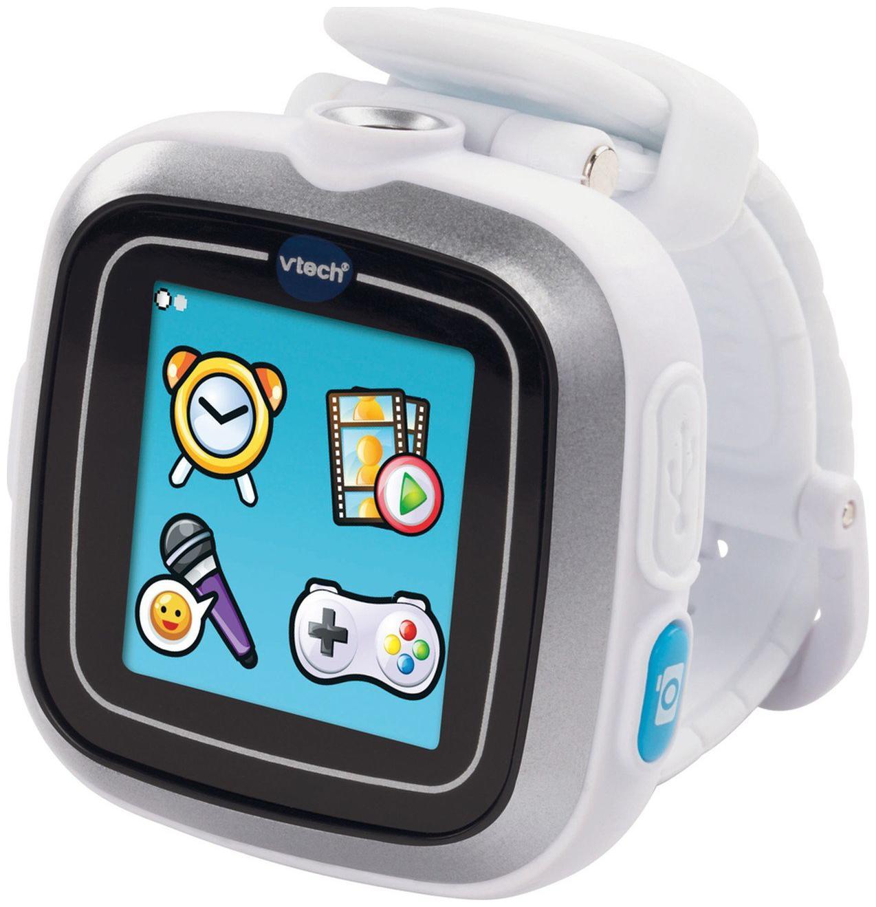 Vtech Kidizoom Smartwatch Plus Ll White, Multi Color