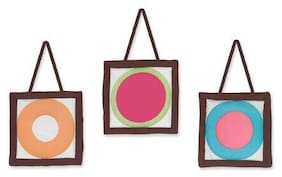 Wall Art Decor Hangings Sweet Jojo Designs Modern Deco Dot Baby Kid Bedding Set