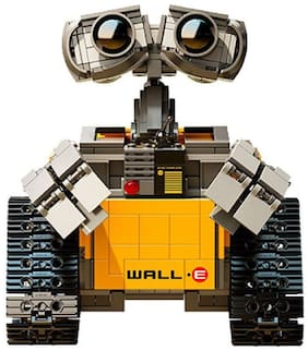 Wall-E Futuristic Robot Assemble and Learning Block Construction 687 Pcs Toy Set with Plant-On-Earth Element