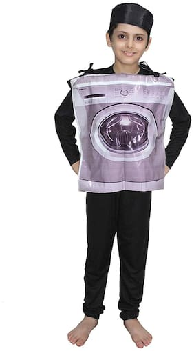 Washing Machine Object Costume For Kids School Annual function/Theme Party/Competition/Stage Shows Dress