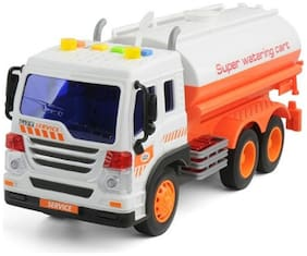 Water Tanker Truck Educational Toys Sound & Light