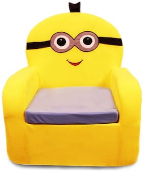 We Play Yellow Character Kids Thermocol Foam Sofa