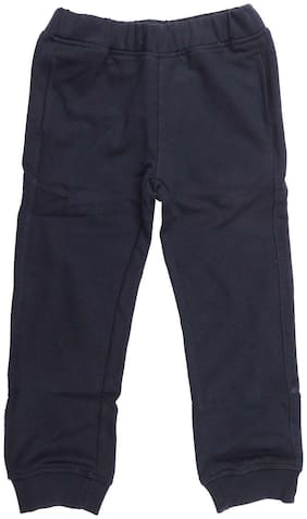 Wear your Mind Boy Solid Trousers - Blue