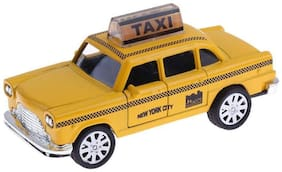 Webby 1:32 Diecast Mini Yellow Pull Back Taxi Alloy Car Model Toys for Children Kids Cars Toys