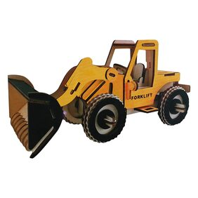 Webby 3D DIY Wooden Forklift Construction Vehicle Jigsaw Puzzle