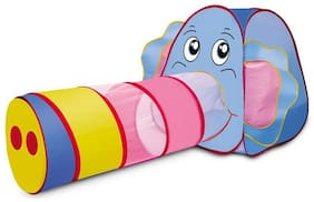 Webby Big Elephant Tunnel Popup Play Tent House