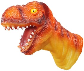 Webby Dinosaur Head Roleplay Hand Puppet Glove Toy for Kids