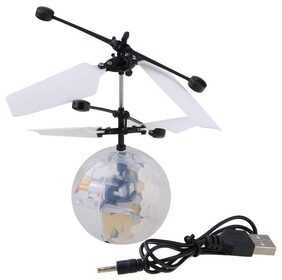 Webby Flying Disco Ball RC Infrared Flyer Helicopter