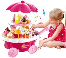 Webby Sweet Shopping Cart, Multi Color