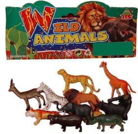 WILD ANIMALS[SET OF 12 pcs]
