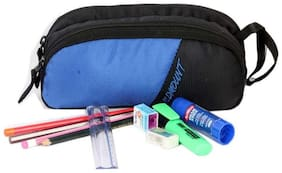 Wildmount multi utility Dual Compartment Pouch ( BLUE & BLACK )