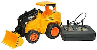 Wired Remote Controlled JCB Super Truck Toy Gift For Kids