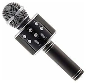 Wireless Portable Handheld Singing Machine Condenser Microphones Mic Compatible with All Android Smartphones