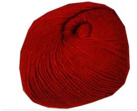 WOAFASHIONS LOVABLE Acrylic Hand Knitting Yarn (Mehroon) (200g)