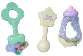 Wonder Star Present Non Toxic Rattle Set (3 pcs)