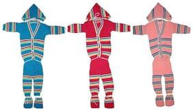 WONDER STAR Baby boy Wool Solid Sweater - Multi