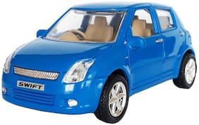 Wonder Star Present Heavy Quality Pull Back Swift Car toy for kids with Front row open gate option.