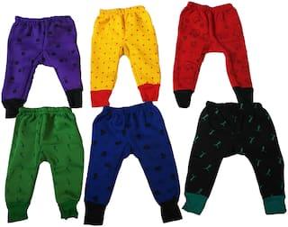 WONDER STAR Baby boy Wool Printed Pyjama - Multi