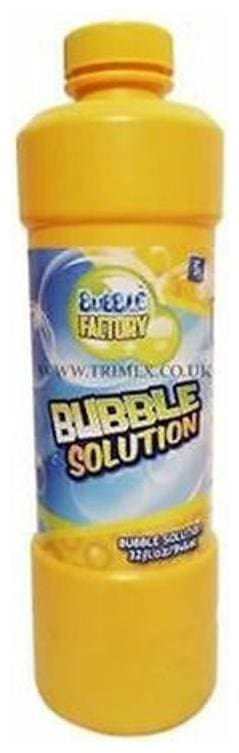 Wonder Star Present Bubble Toy/Gun Refill Liquid (500 ml) for any bubble toy