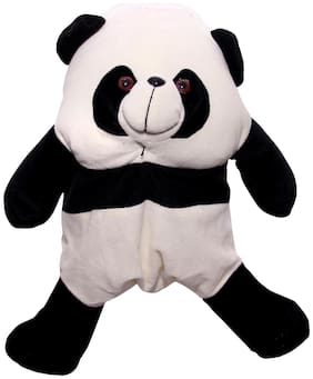 WOOS cute & Lovely Panda Best Quality School Bag For Kids - White;Black