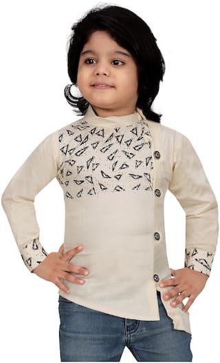 XBOYZ Boy Cotton blend Printed Shirt Multi