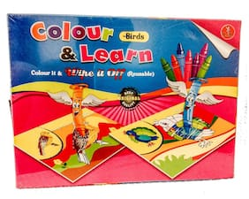 Yash Color And Learn - Birds