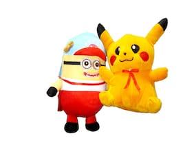 Yashi Enterprises Pikachu with Minnion 20 CM