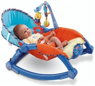 yatri enterprise New-Born to Toddler Portable Rocker ( Color May Vary)