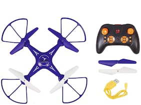 yatri enterprise Flying Drone H010, Quadcopter 6-AXIS GYRO, 360 deg, with USB Charger and RC.