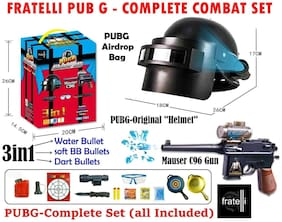 yatri enterprise Pub G Player Battle Ground Toy Series Airdrop Bag Complete Combat Set
