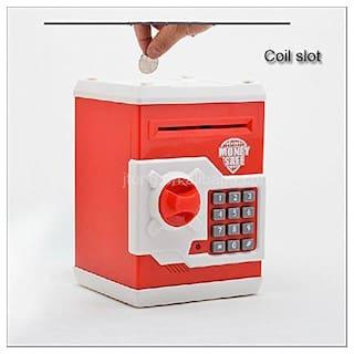 yatri enterprise Money Safe Kids Piggy Savings with Electronic Lock Coin Bank