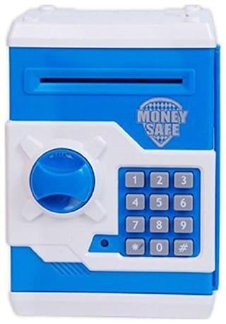 yatri enterprise Mini Piggy Bank Safe Box Money Coin Atm Bank Toy Atm Machine Kids Gift Money Box Digital Saving Boxes