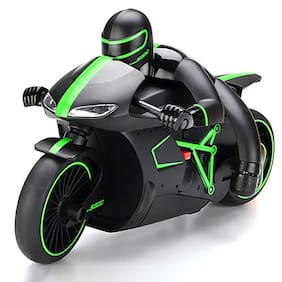 yatri enterprise Professional High Speed 2.4 GHz RC Motorcycle Bike with Built in Gyroscope & Bright LED Headlights