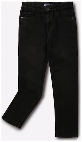 YB DNMX By Reliance Trends Black Boys Jeans