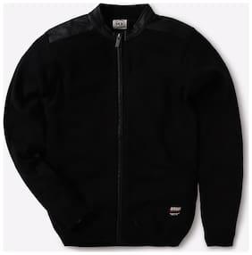 YB DNMX By Reliance Trends Boy Black Sweaters