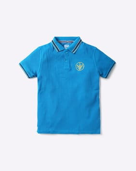YB DNMX By Reliance Trends Blue Boys T-Shirts