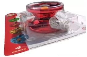 Yoyo V3 Responsive High-Speed Metal Yo-yo CNC Lathe with Spinning String for Boys Girls (1Pc) Red