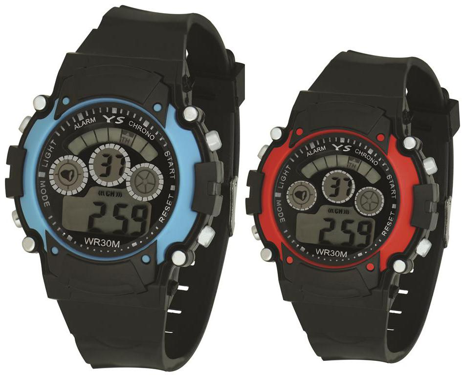 Ys Combo Of 2 Digital Watches rg599 With Multi Size For Boys   Girls  kids