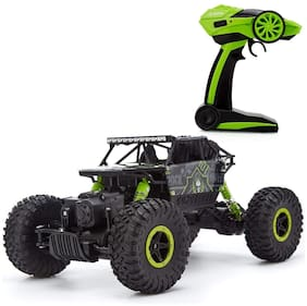 Zenith Toys  Remote Controlled 2.4 Ghz 4 Wheel Drive Rock Crawler Rally Car - Multi Color
