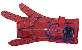 Zest 4 Toyz Soft Fabric Ultimate Spiderman Gloves With Disc Launcher For Real Action