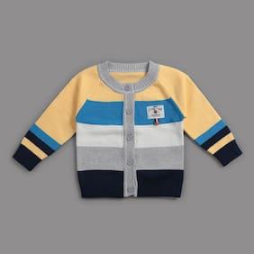 Zonko Style Baby Boy Acrylic Solid Sweater - Multi