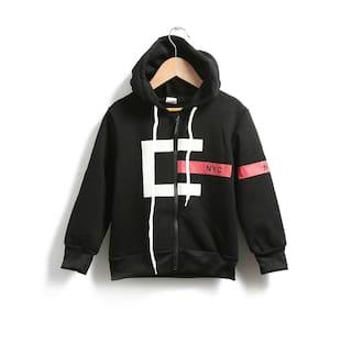 4d22ec5e1 Buy Zonko Style Baby Boy Cotton Solid Sweatshirt - Black Online at ...