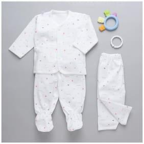 Zonko Style Baby girl Gift set - White