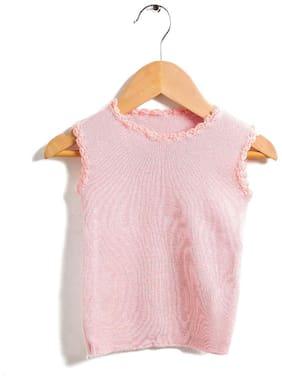 Zonko Style Vest For Unisex - Pink , 1
