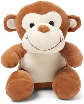 Zoonio Monkey Soft Toy Brown - 25 cm