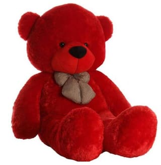 Zoonio Red color teddy bear 80 cm