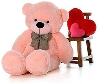 zoonio Soft Spongy Huggable Cute Pink color Teddy Bear - 80 cm